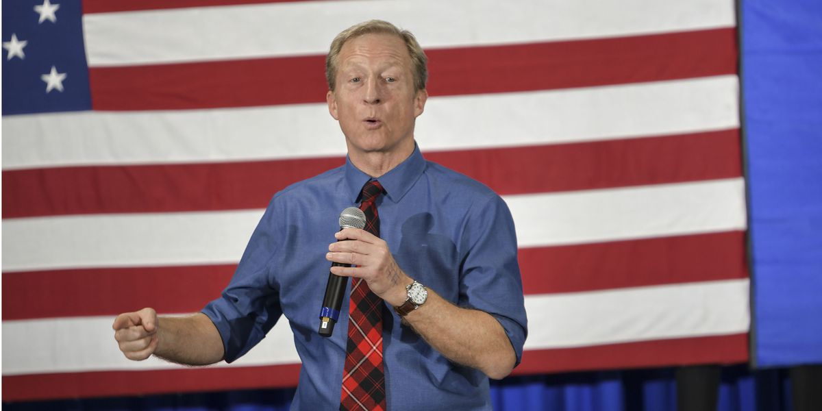 AP exclusive: Tom Steyer's aide offered money for endorsements of presidential bid