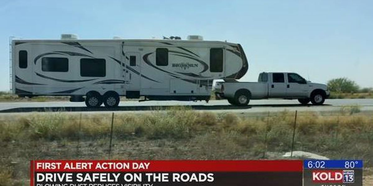 RV drivers say stay off the road in high winds