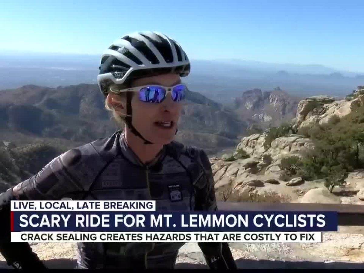 Cyclists voice concerns about road conditions on Mount Lemmon