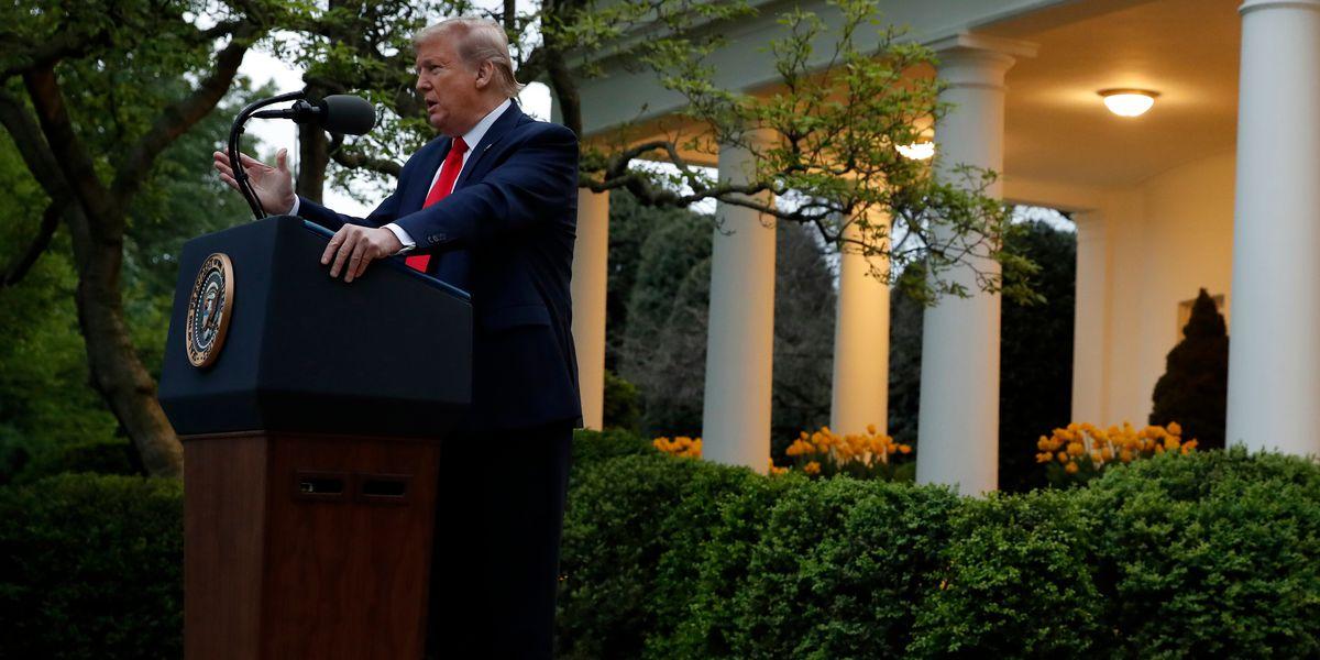 Trump tours, touts mask factory -- but no mask for him