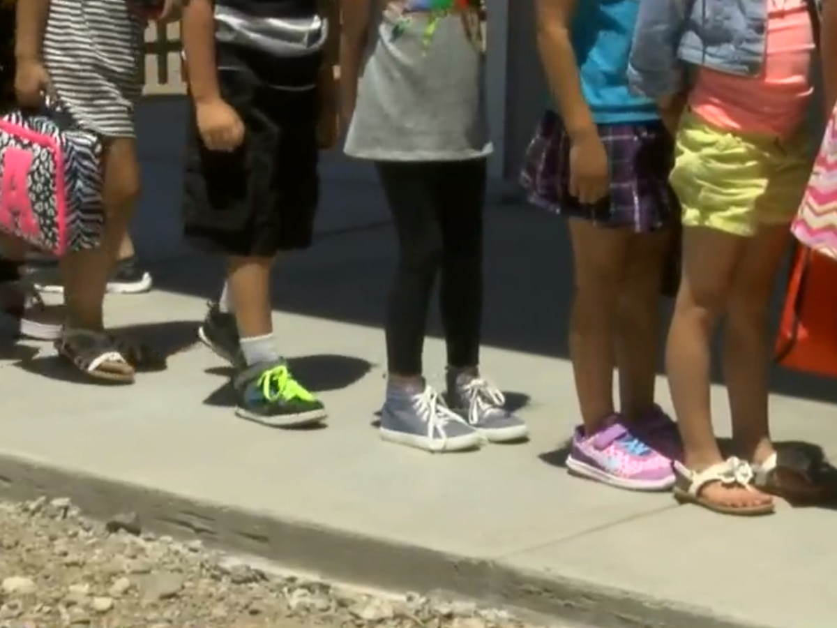 Vail K-8 students head back to the classrooms