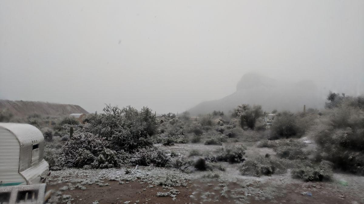 Winter storm dumps snow, rain on Tucson, causes travel disruptions