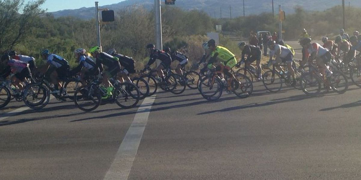 El Tour de Tucson cyclists affected by NW-side construction