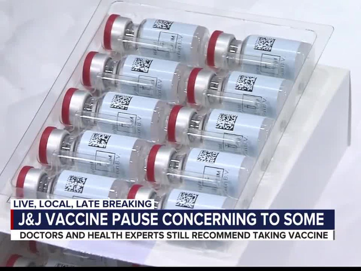 J&J recipients, health experts respond to temporary halt of vaccine
