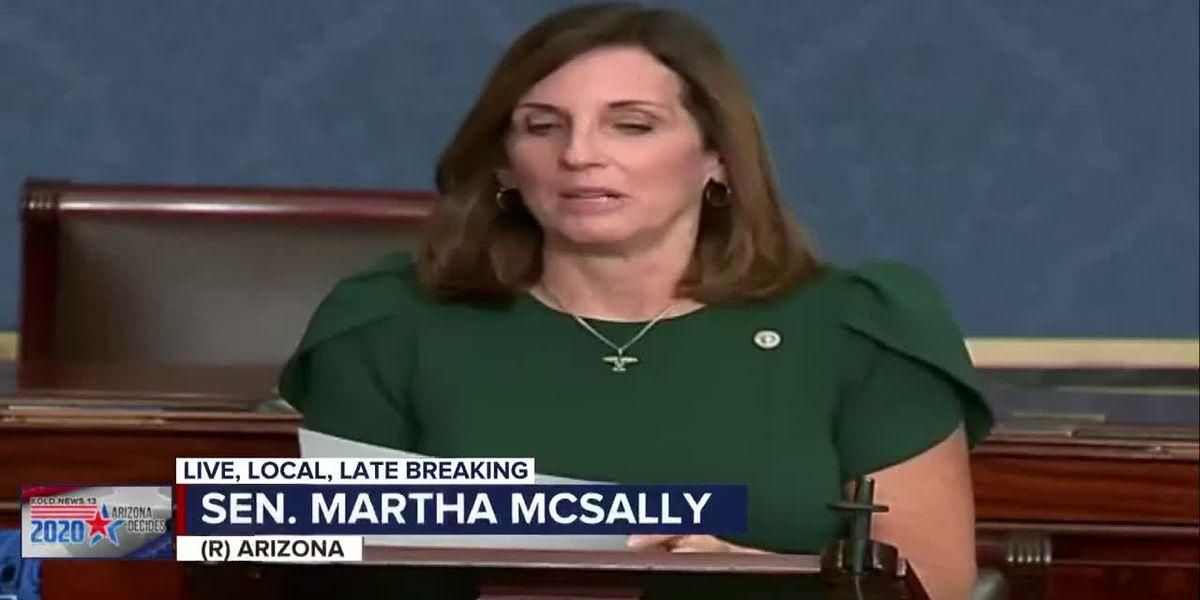 Senator Martha McSally delivers final speech from Senate floor