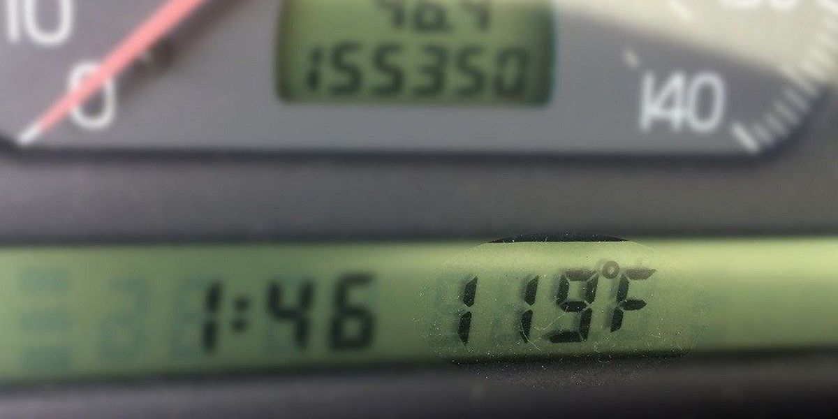 Why your car thermometer is wrong, especially in Arizona