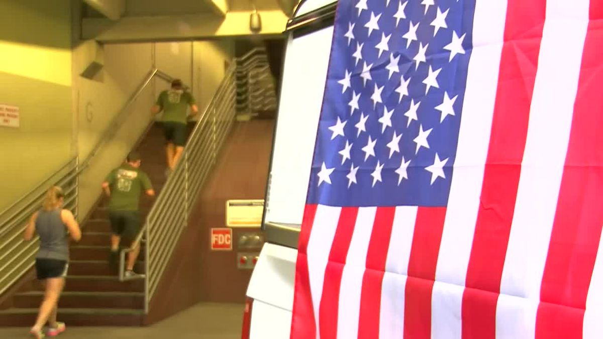 Tucson honors those lost in 9/11 with Tower Challenge