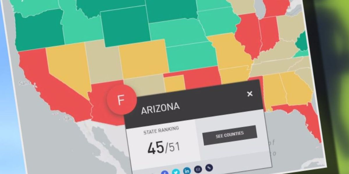 Study ranks Arizona among worst in country for school zone safety
