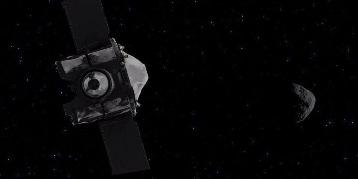 UA-led mission OSIRIS-REx celebrates 2 years in space