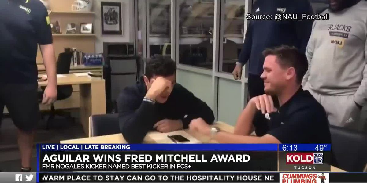 Former Nogales High kicker wins Fred Mitchell Award