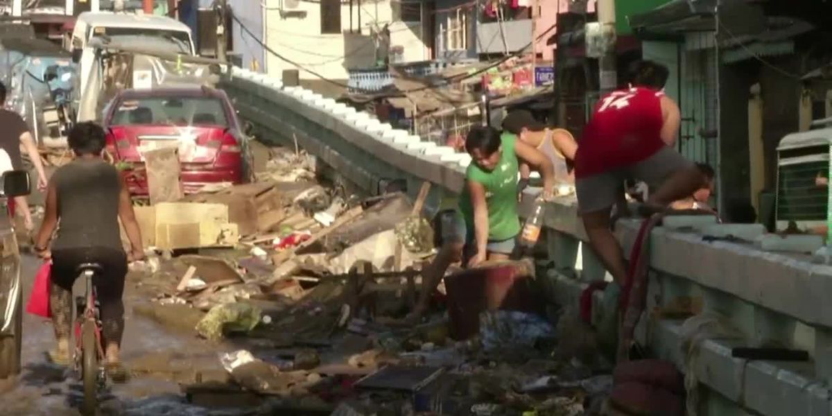 Typhoon Vamco kills at least 39 in the Philippines