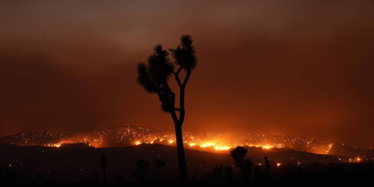 Crews make progress against enormous LA-area wildfire