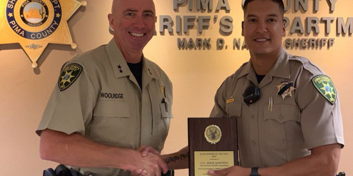 Pima County corrections officer praised for quick action