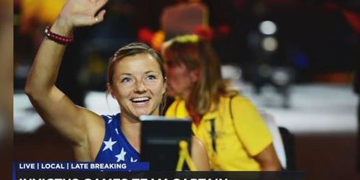 Local hero leads Team USA at 2017 Invictus Games