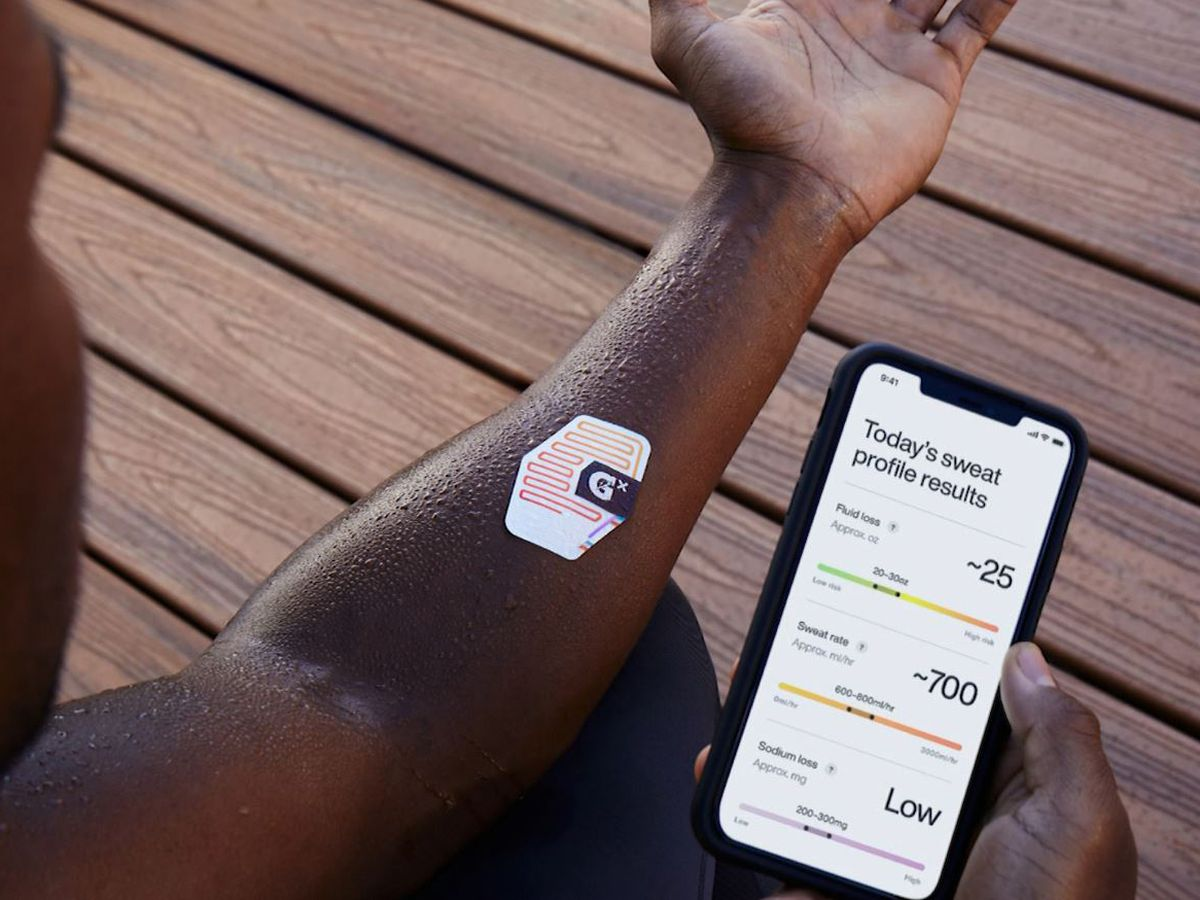 Gatorade introduces patch to measure hydration