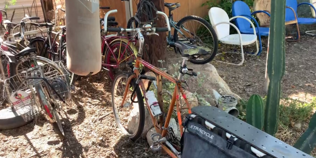 Tucson man ditches car for life on a bike