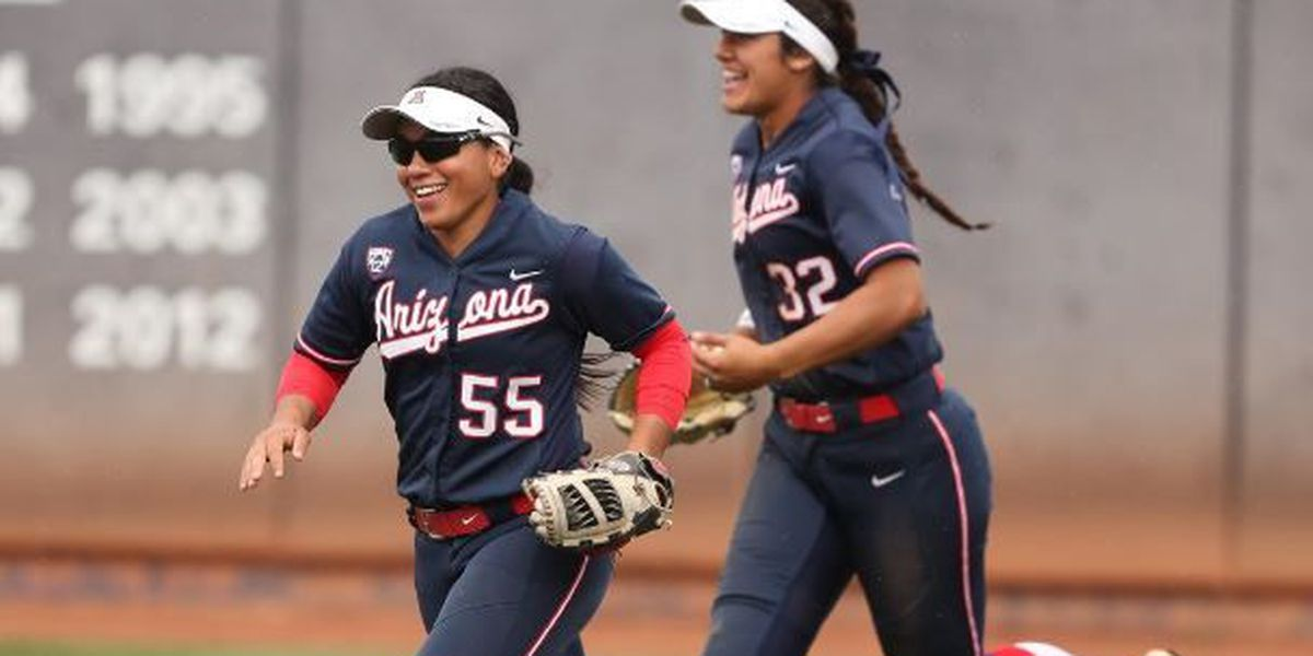Softball rocks double header in Cali