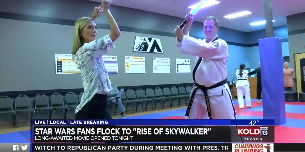 Use the Force in new light saber martial arts class