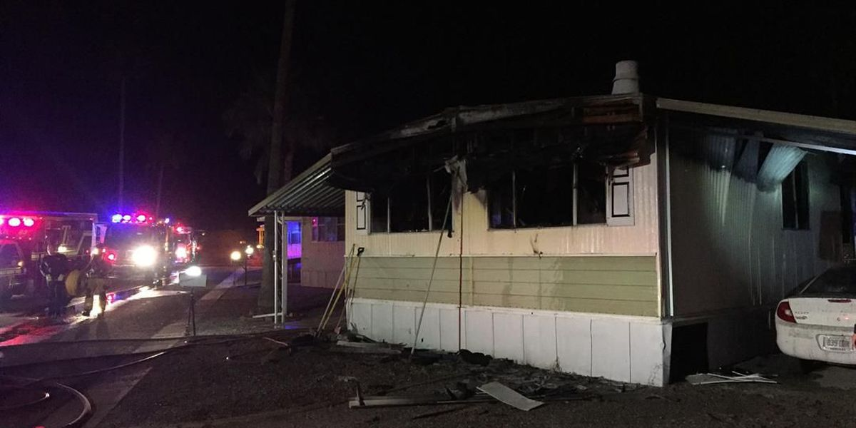 Killing spiders with propane torch may have caused fire