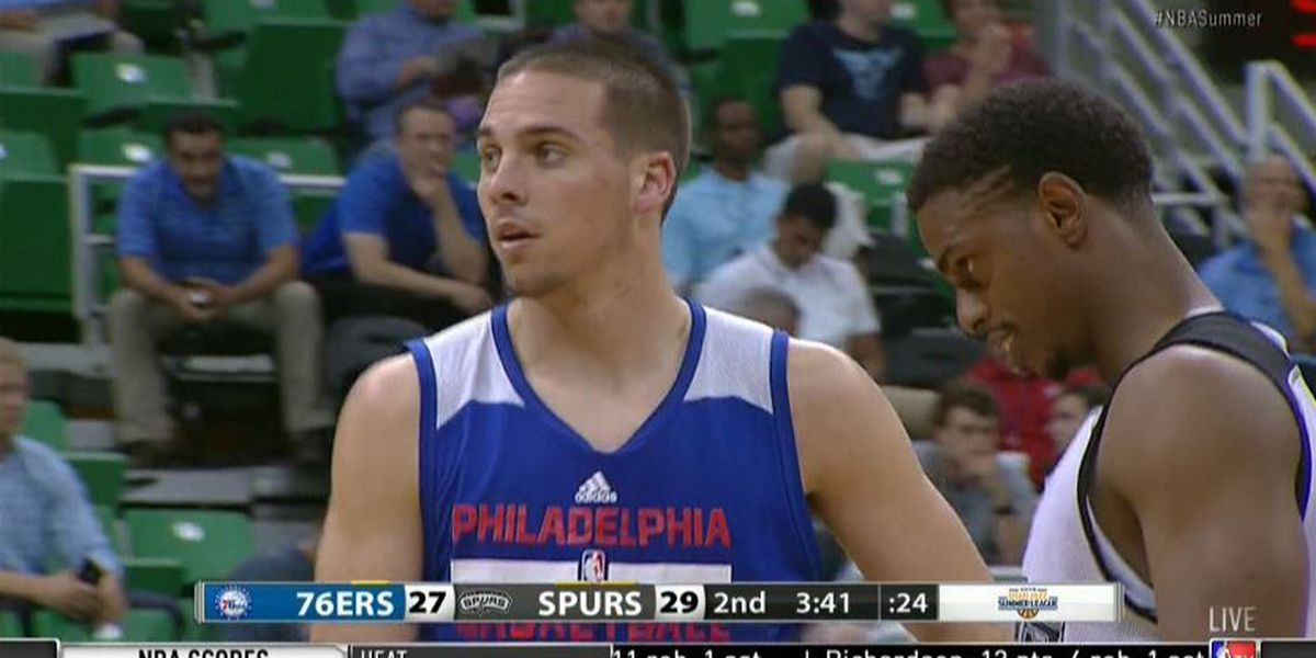 T.J. impresses in first summer league outing