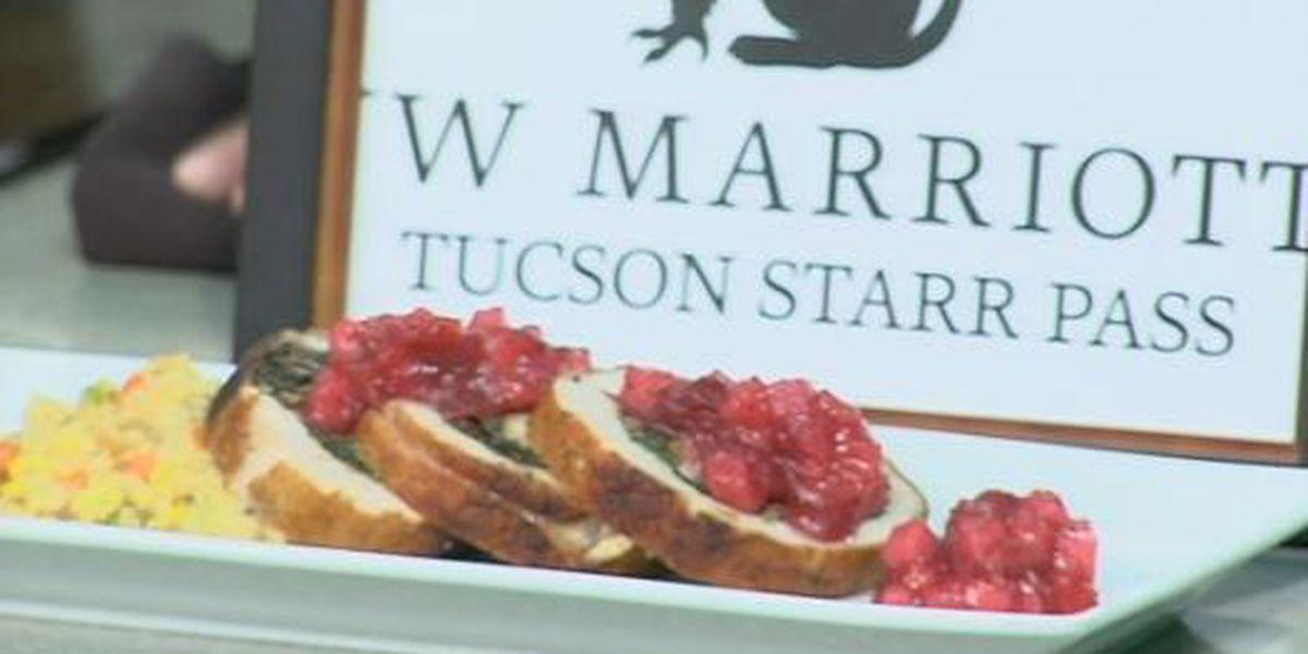 Fig & Goat Cheese Stuffed Pork Loin - JW Marriot Tucson Starr Pass