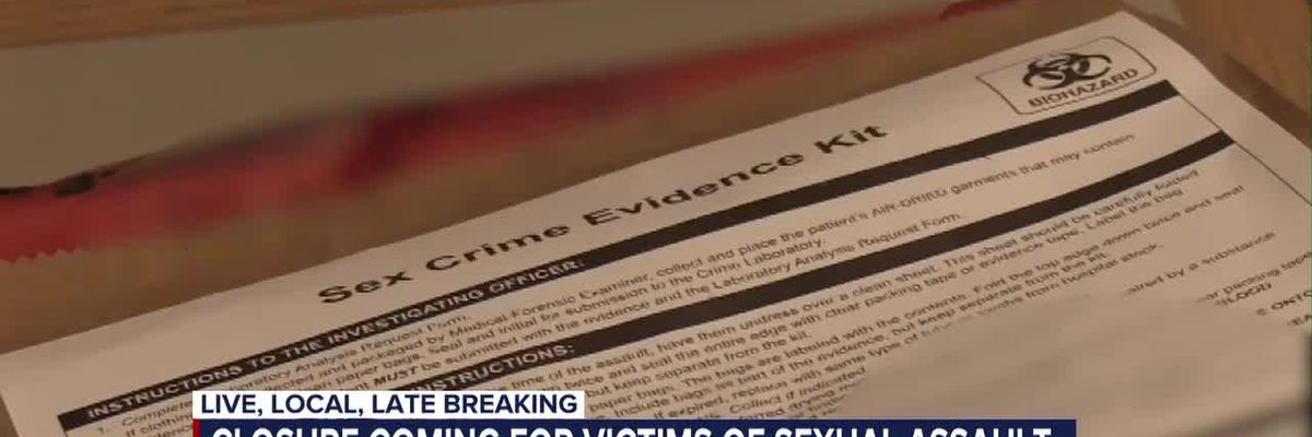 Pima County sexual assault crime kits