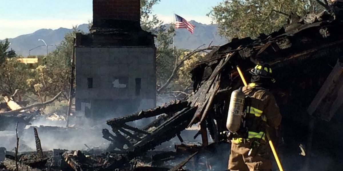House a 'total loss' after early morning fire near Cortaro
