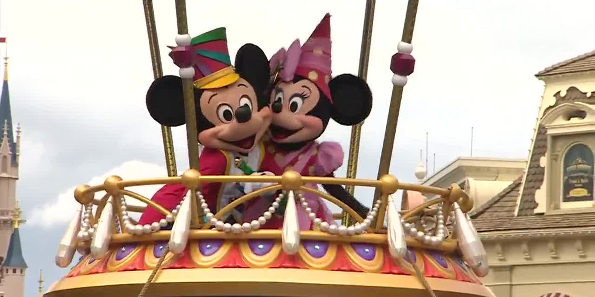 It's Mickey and Minnie Mouse's 91st 'birthday'