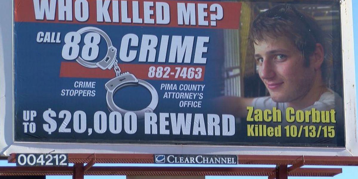 Reward increased in cold-case killing of Zachary Corbut