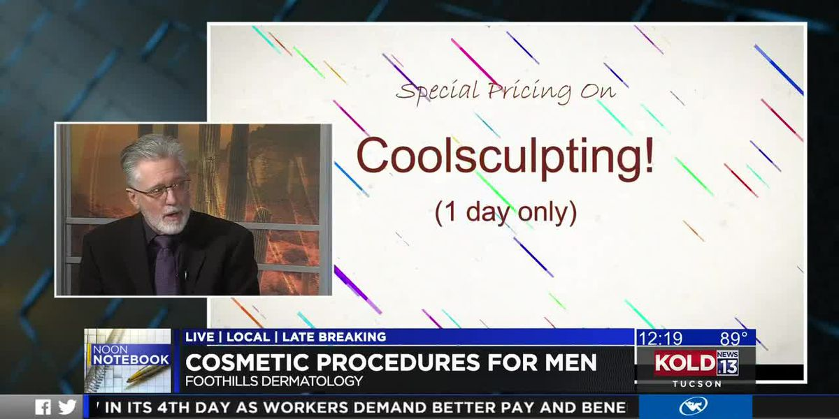 KOLD Noon Notebook: Cosmetic treatments and skincare for men