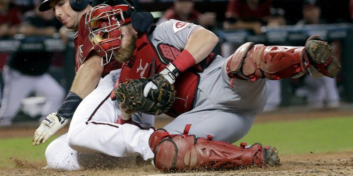 Bailey, Reds send D-backs to another loss, 2-1