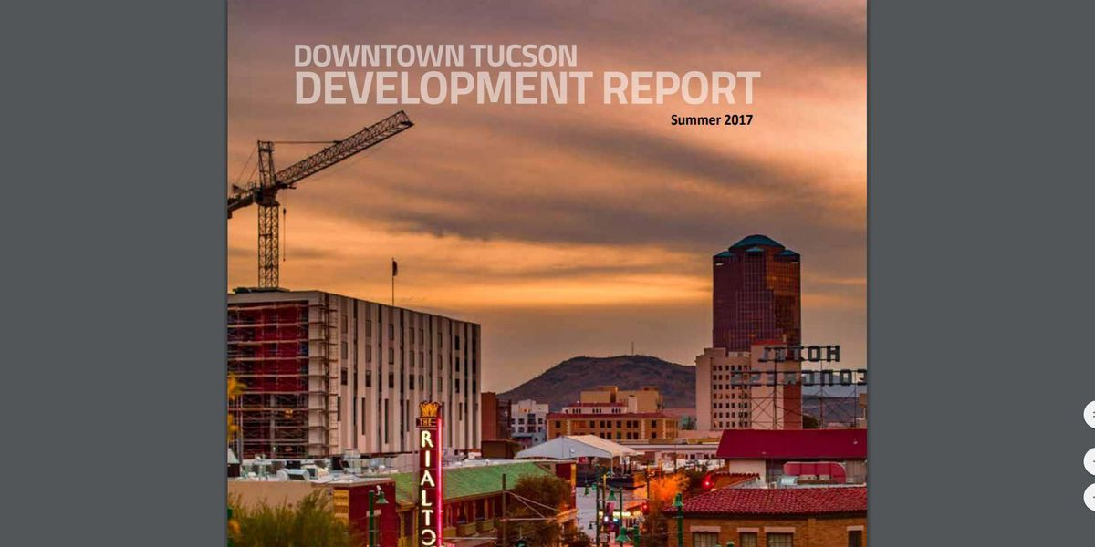 Downtown development report highlights growing number of projects