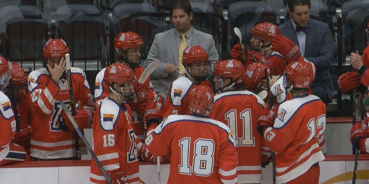 Arizona Hockey sweeps Maryville