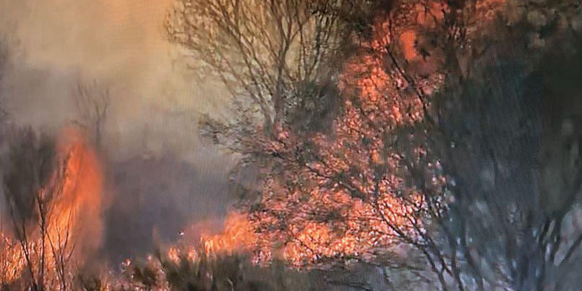 APP EXTRA: Firefighter talks about strategy for Santa Cruz River blaze