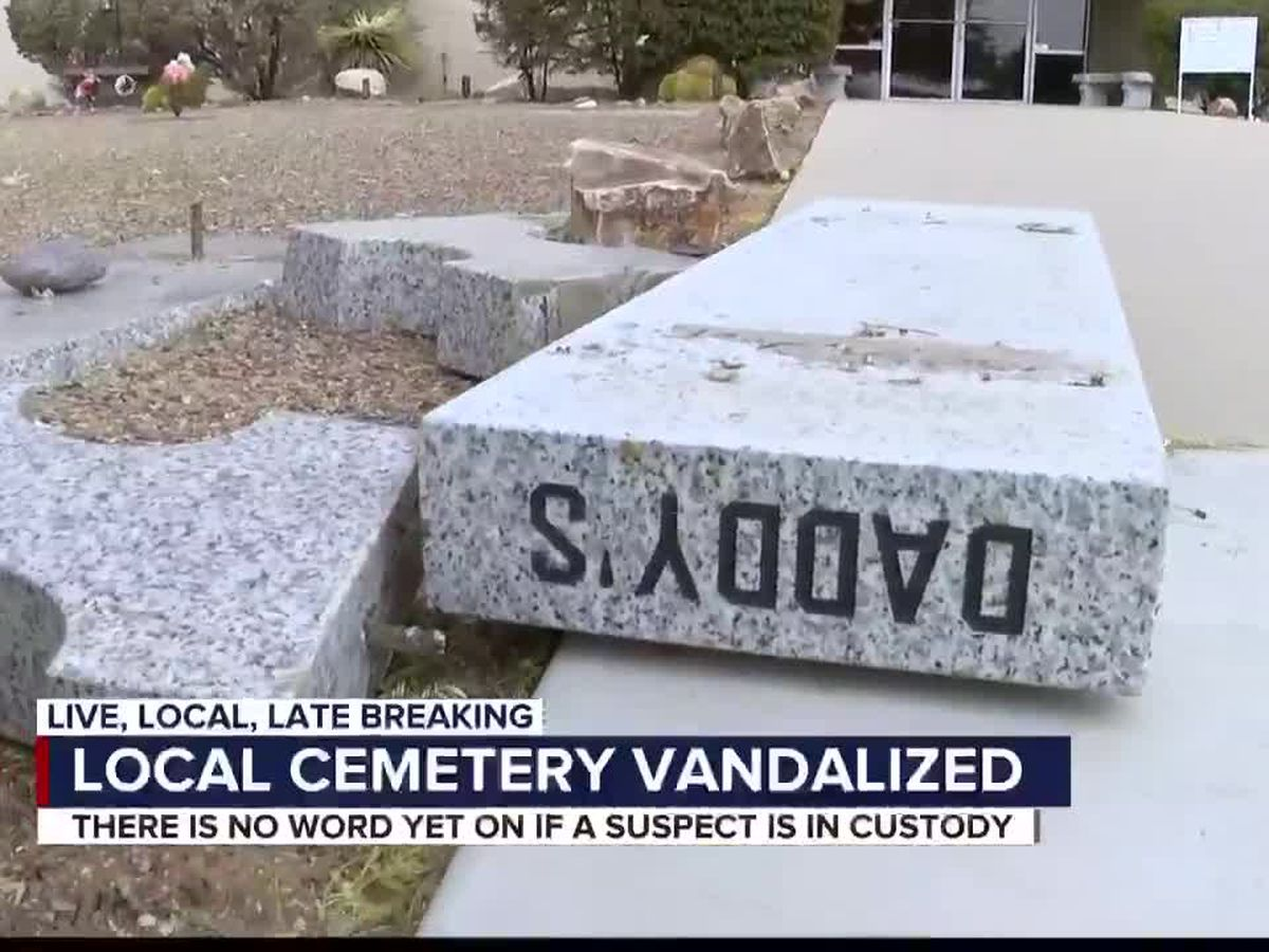 """Shame on them!"" Tucson mausoleum vandalized"