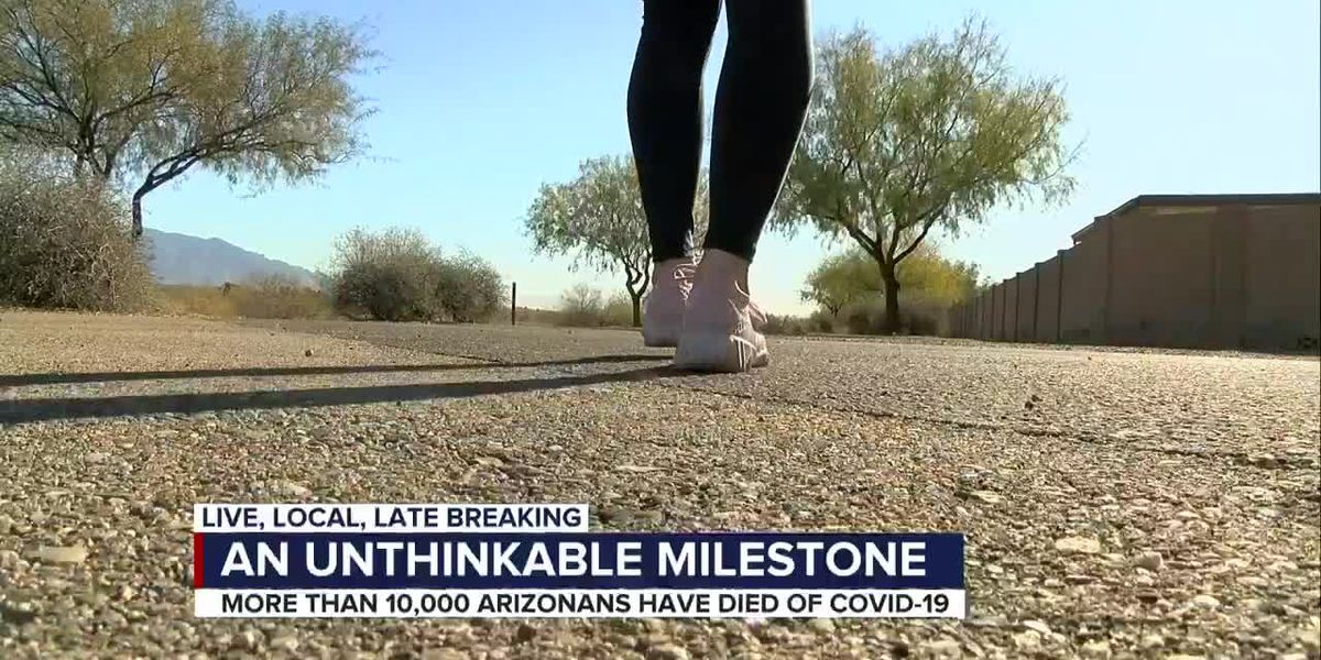 Arizona reaches over 10,000 deaths to COVID-19 over the weekend