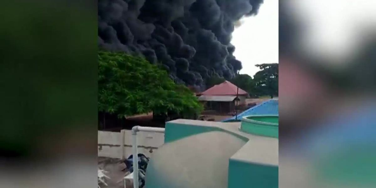 gas tanker explosion