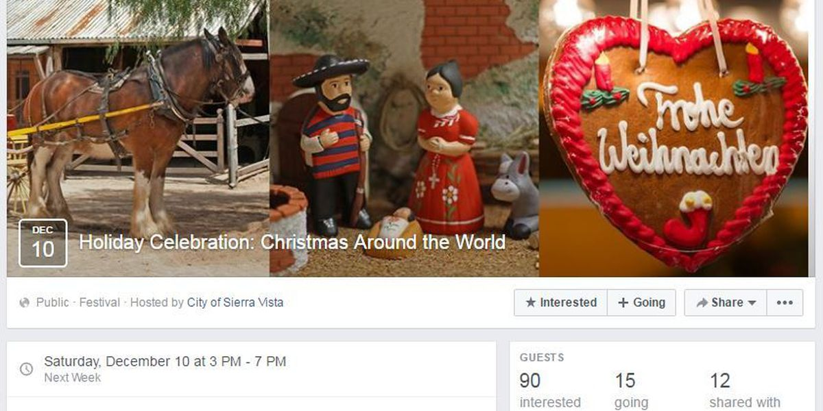 Sierra Vista to host new event to highlight holiday traditions