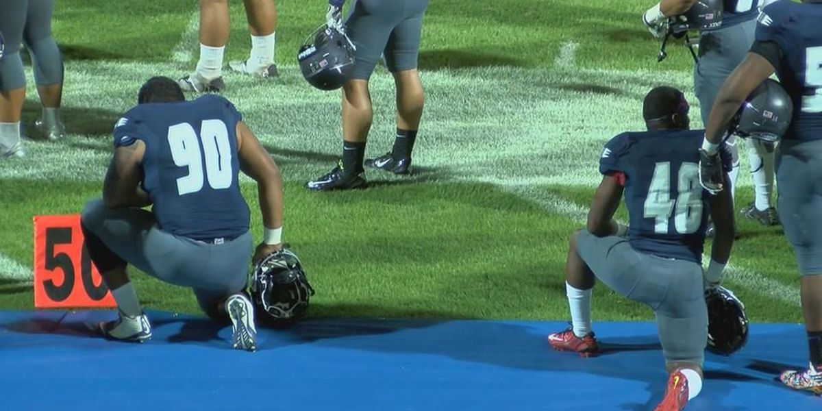 PCC Athletics turn kneeling protest into educational opportunity