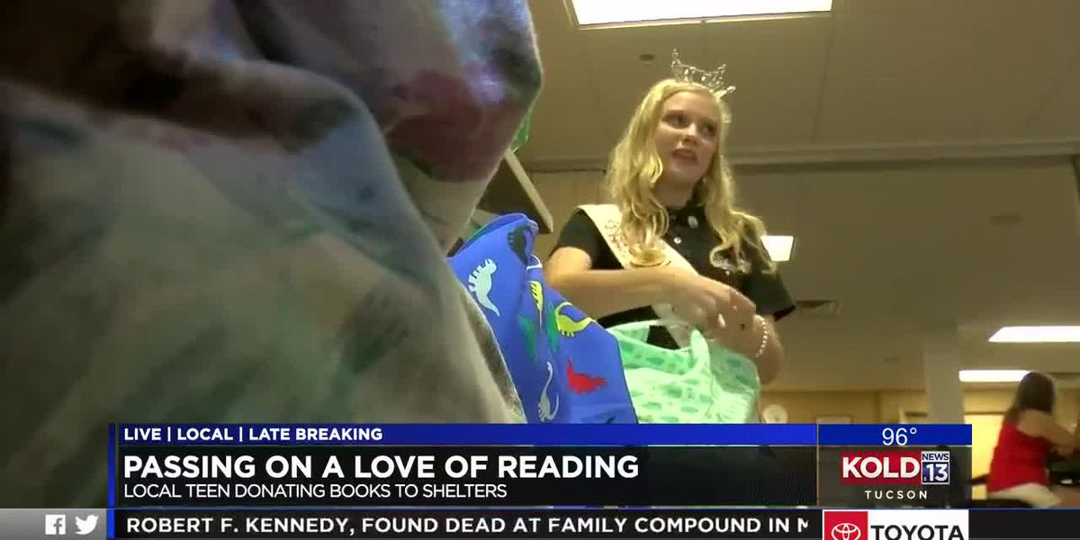 Southern Arizona teen combines love of reading, helping others