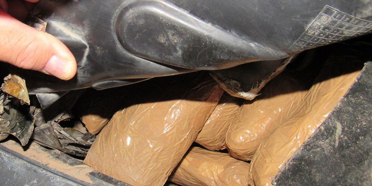 Hard drug smugglers intercepted by CBP officers at Port of San Luis