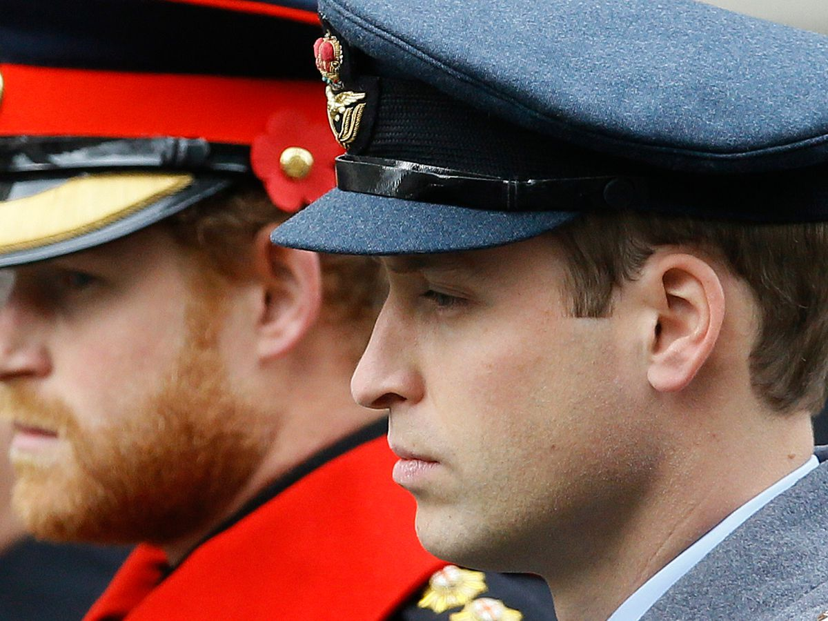 Princes William, Harry won't walk side-by-side at funeral