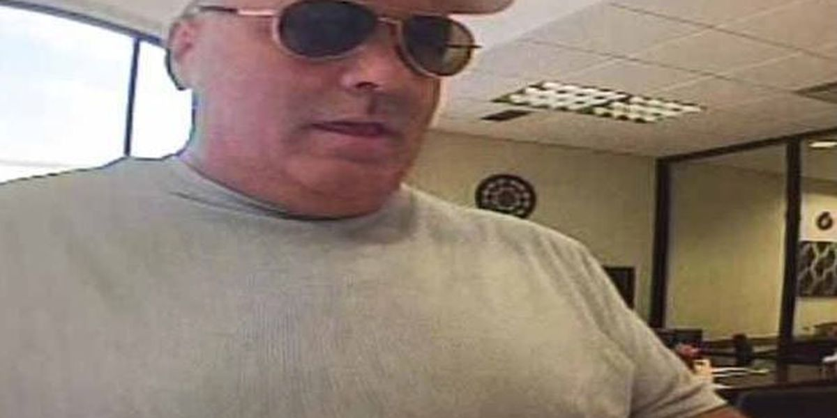 Tucson mandubbed 'Barrel Chested Bandit' gets 10 years for string of bank robberies