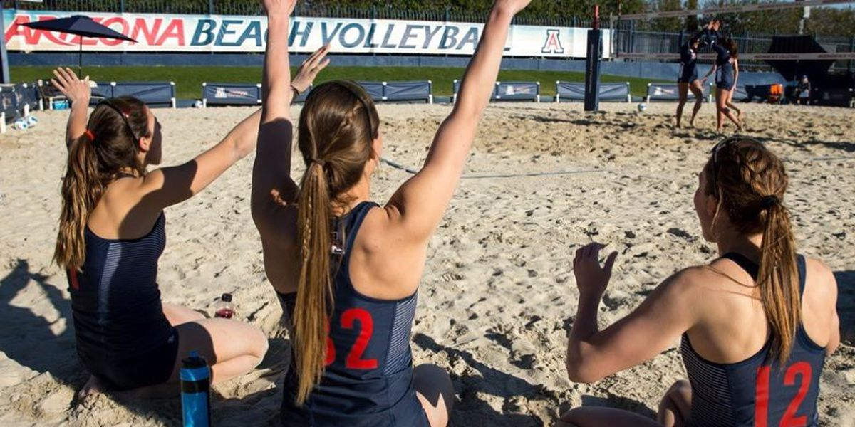 #14 Arizona Beach Volleyball sweeps Wildcat Invitational