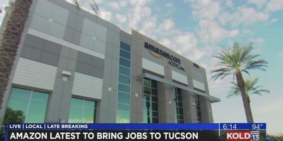 Amazon bringing more than 1,500 jobs to Tucson