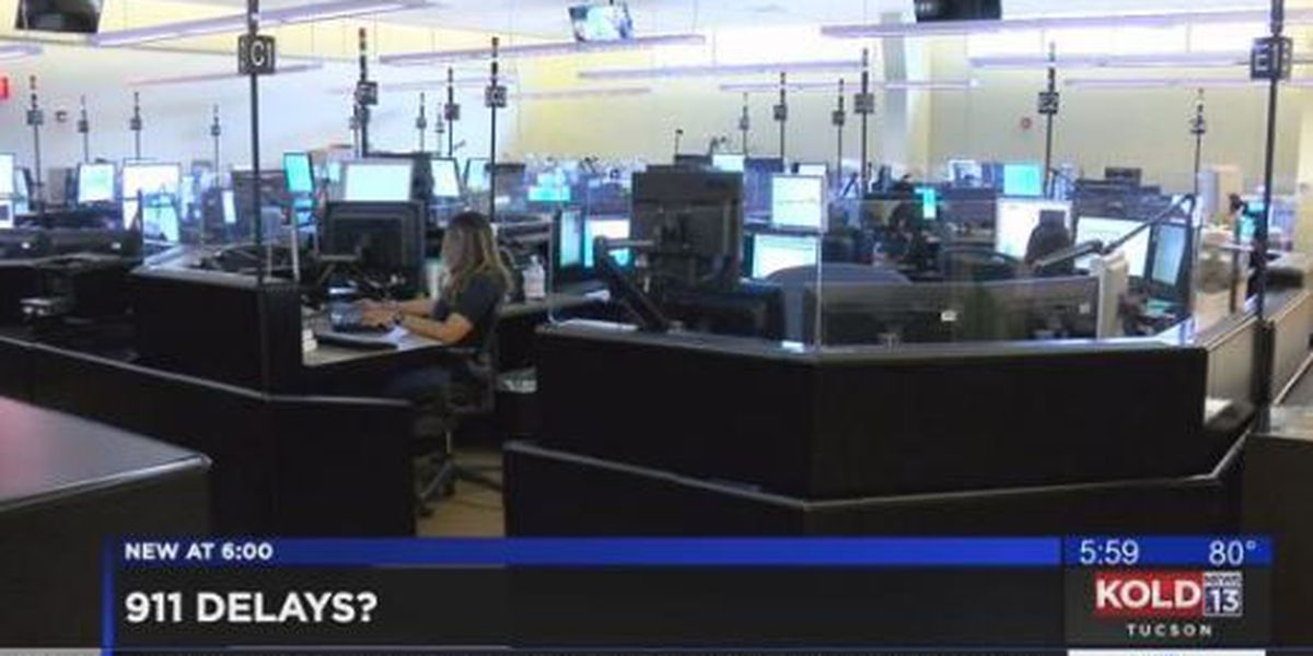 Tucson police, fire departments consolidating call center to help with 911 delays