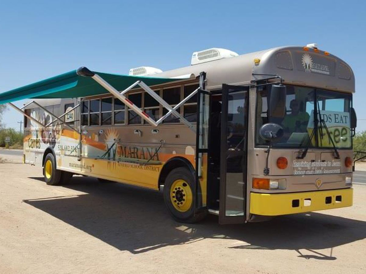 Marana Cares Mobile providing meals to kids during winter break