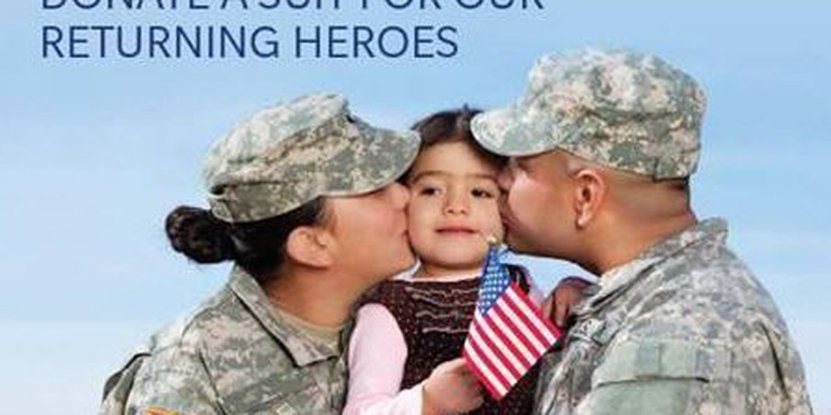 'Suits for Soldiers' campaign kicks off