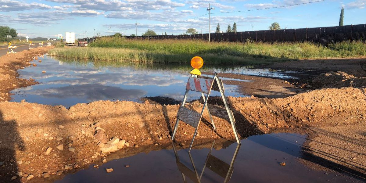 Cochise County town hall on sewage overflow from Mexico