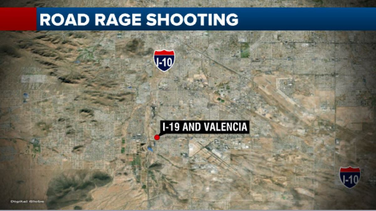 UPDATE: Man shot during road rage incident in Tucson